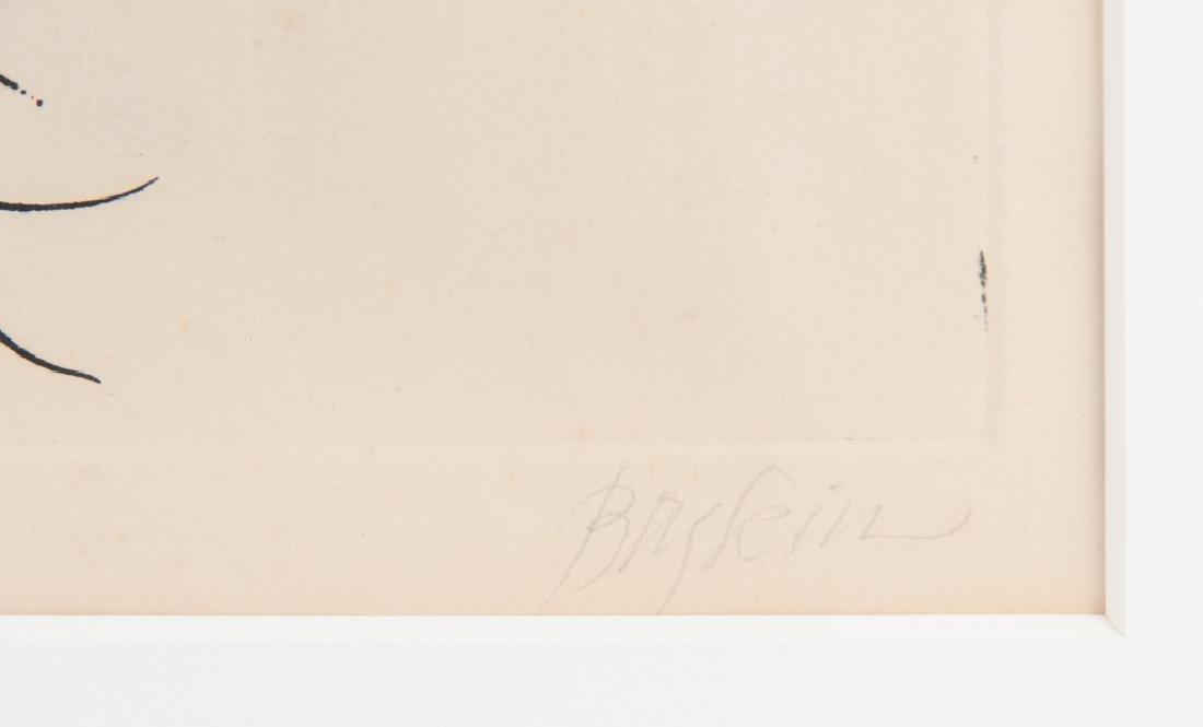 Leonard Baskin Artist's Proof Etching - 3