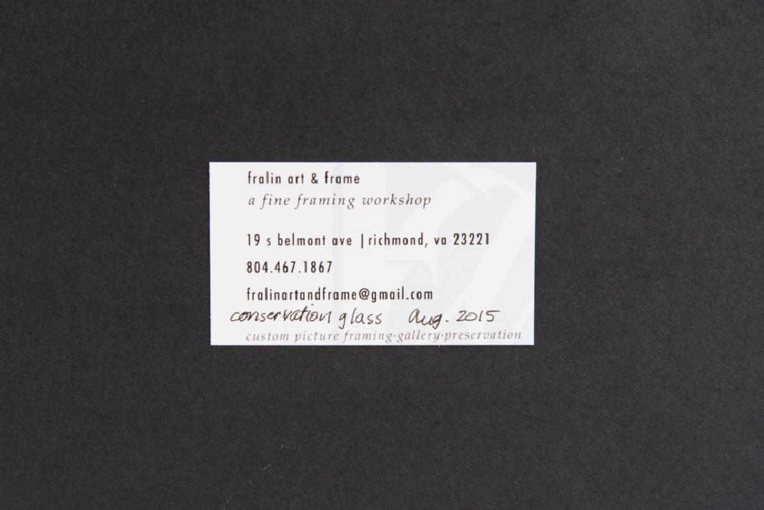 Leonard Baskin Artist's Proof Etching - 5