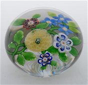 Antique Baccarat Glass Paperweight