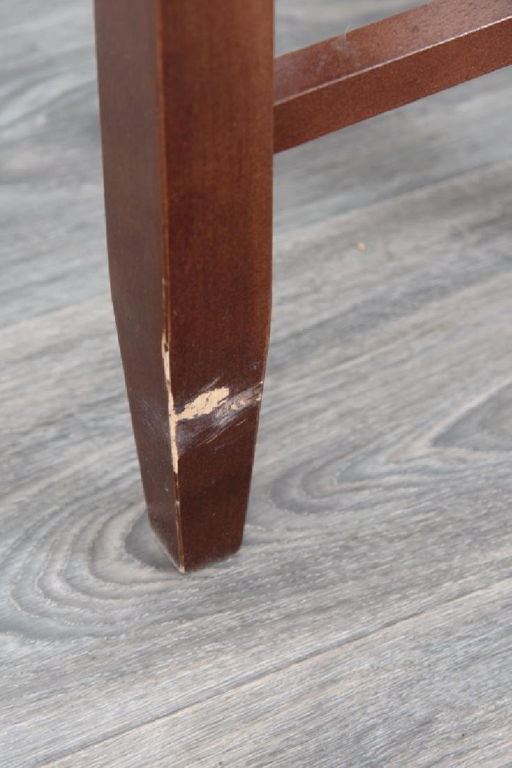 Wood Side Tables Pair - 8