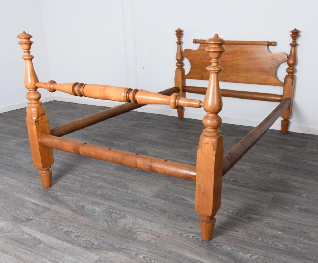 Maple Rope Bed