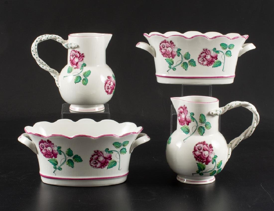 Strasbourg Flowers Pottery for Tiffany & Co.