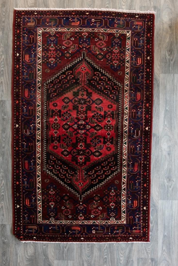 "Persian Malayer 4'5"" x 7'4"" Area Rug"