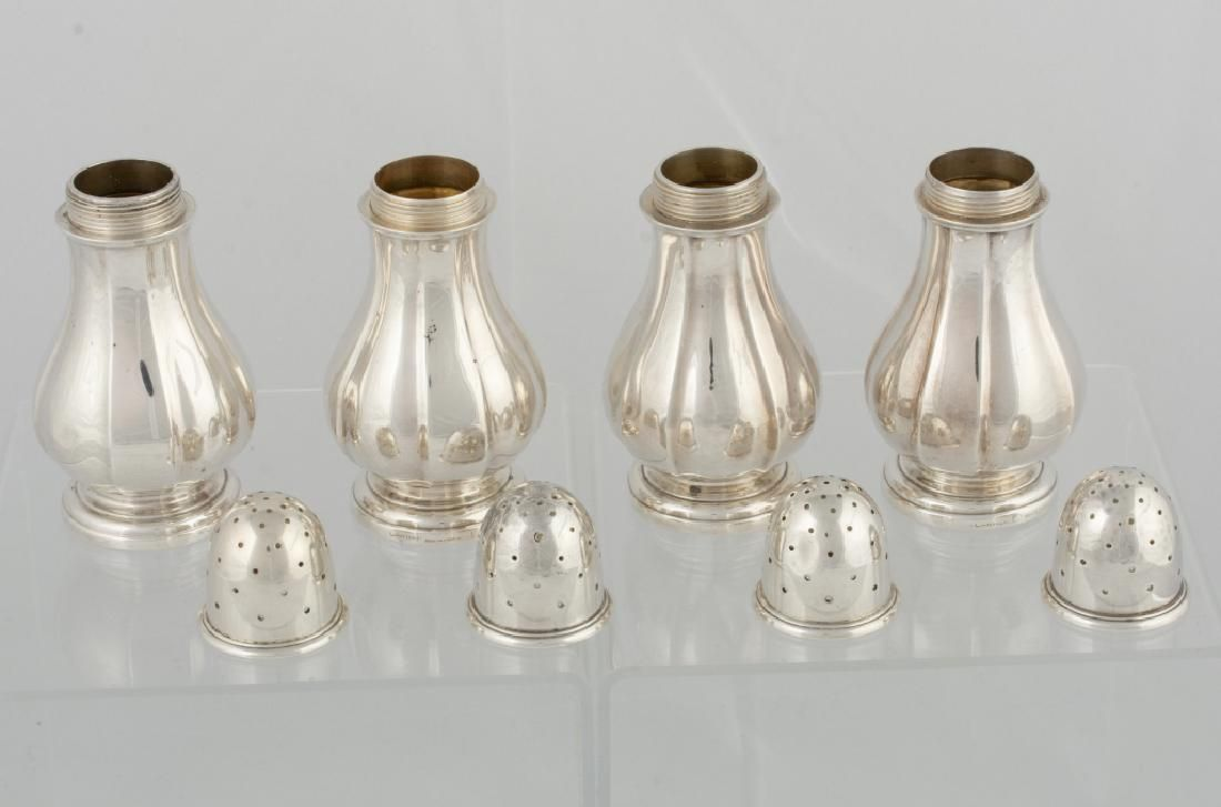 Cartier Sterling Pepper Shakers Group