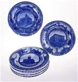 Rowland & Marsellus Staffordshire Souvenir Plates