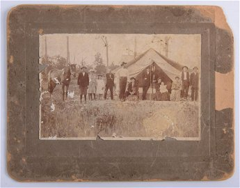 Jesse James Photograph with Family Archive