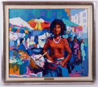 Nicola Simbari Acrylic on Canvas