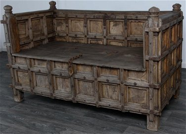Moroccan Bench, 19th C
