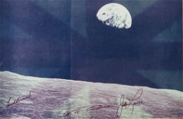 Lunar Surface Photograph