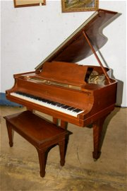 Steinway Baby Grand Piano with Bench