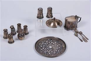 Group of Silver Items