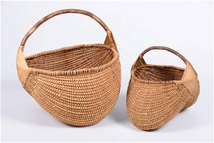 FSW Hand Crafted Basket Group 2P