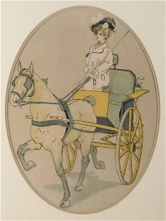 Late 19th C Printed Illustration