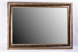 Gilt and Marbled Framed Wall Mirror
