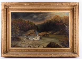 Harrison Oil on Canvas Landscape