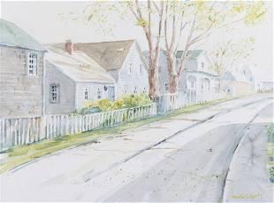 Marilyn Pratt Watercolor Painting