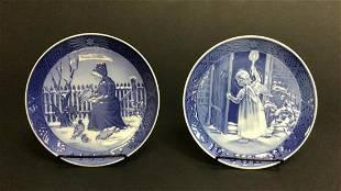 Two Royal Copenhagen Plates