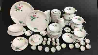 Rosenthal Porcelain Partial Dinner Service