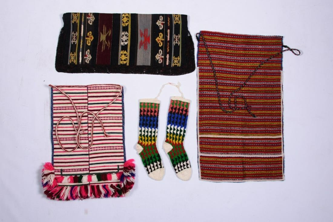Four Piece of Ethnic Macedonian Clothing