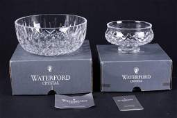 Two Waterford Crystal Bowls
