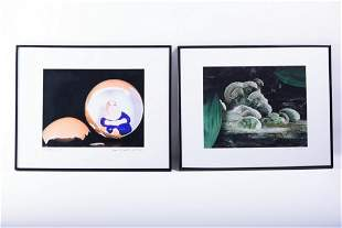 Two Signed Color Photographs