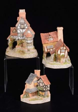 Three David Winter Miniatures