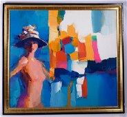 "Nicola Simbari ""Dorette""  Acrylic on Canvas"