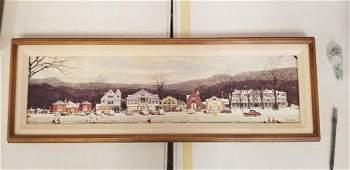 Norman Rockwell Framed Print on Board