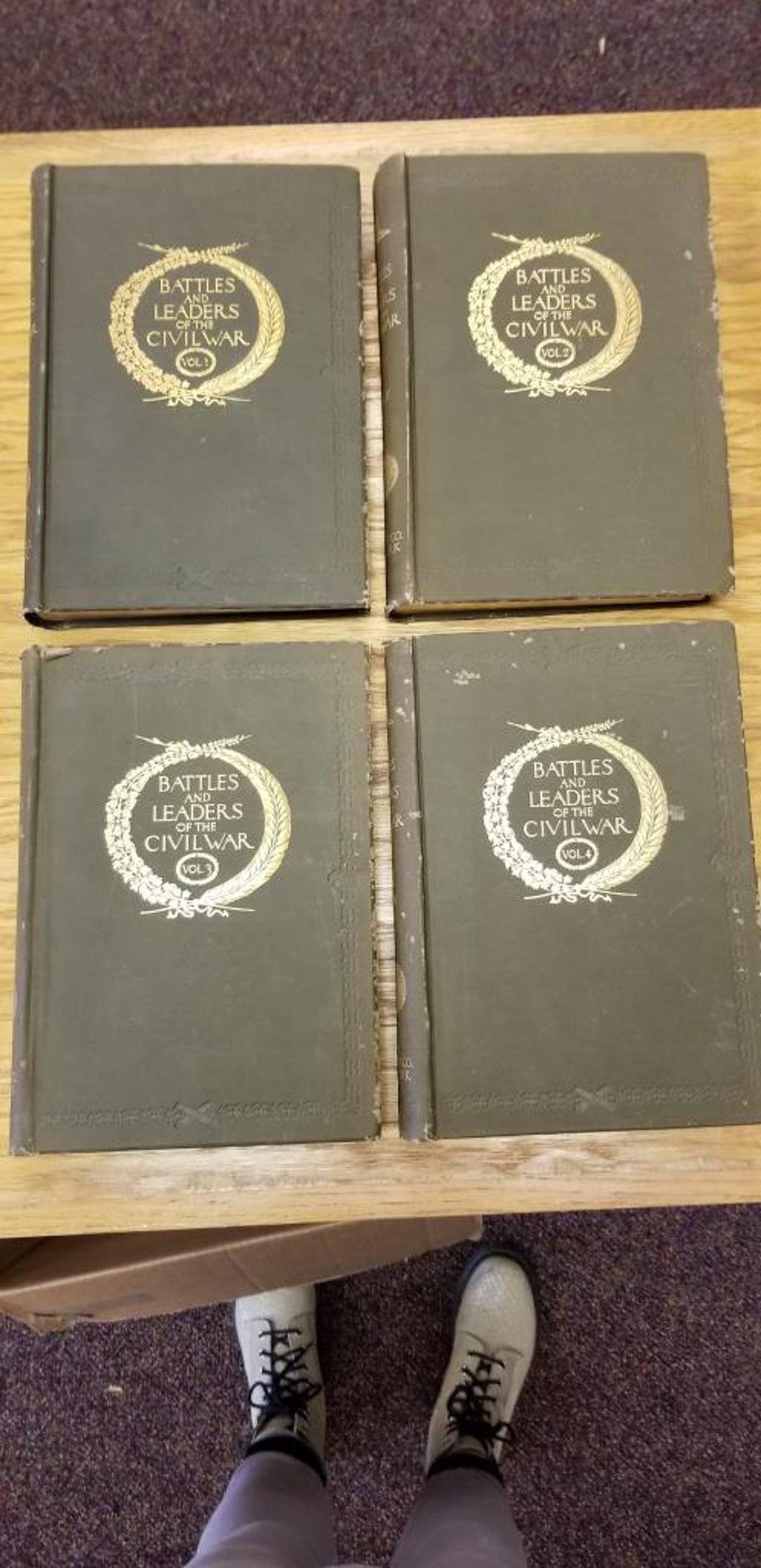 Civil War History Books