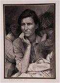 Dorothea Lange Photograph Migrant Mother