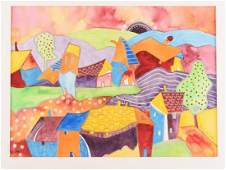 Mary Wirth Gouache on Paper