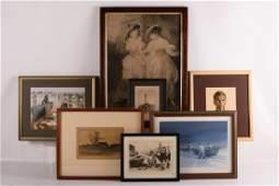 Group of Seven Framed Prints