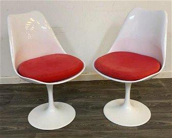 Pair of Mid Century Swivel Chairs