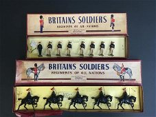 Two Sets of Britains Toy Soldiers