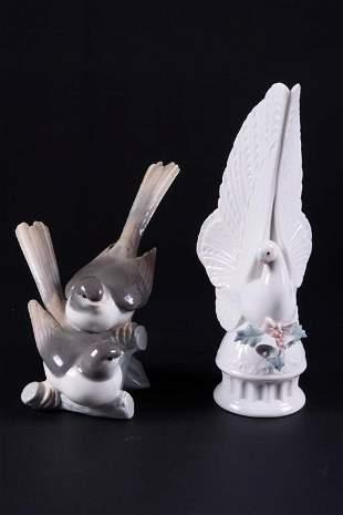 Two Lladro Porcelain Figures