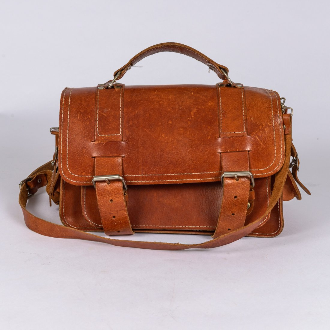 A Leather Travel Case,