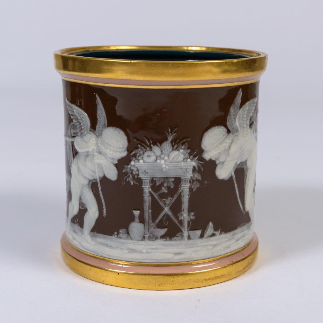 A Mintons Pate sur Pate Porcelain Jar,