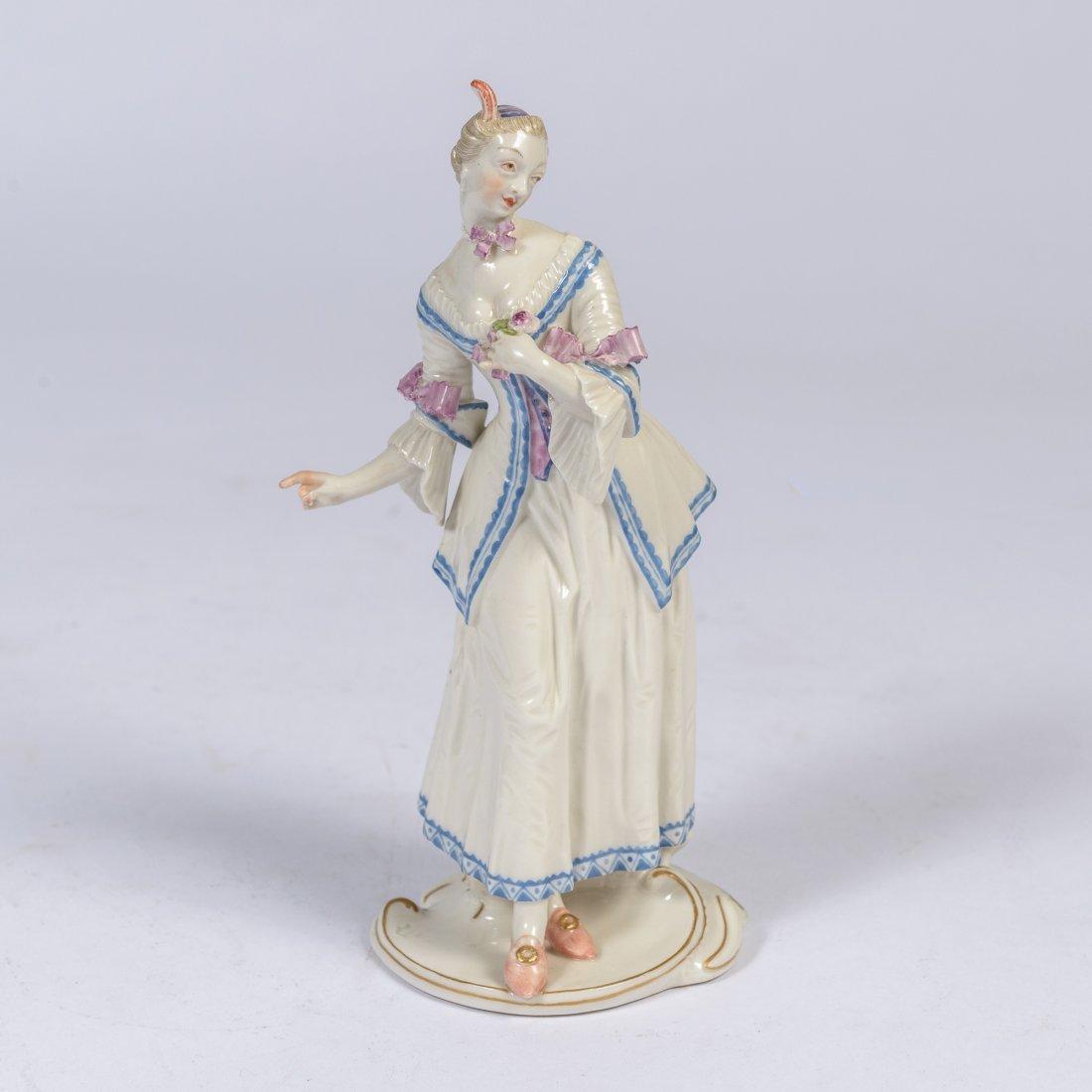 A Nymphenburg Commedia Dell Arte Figure 'Lucinda'