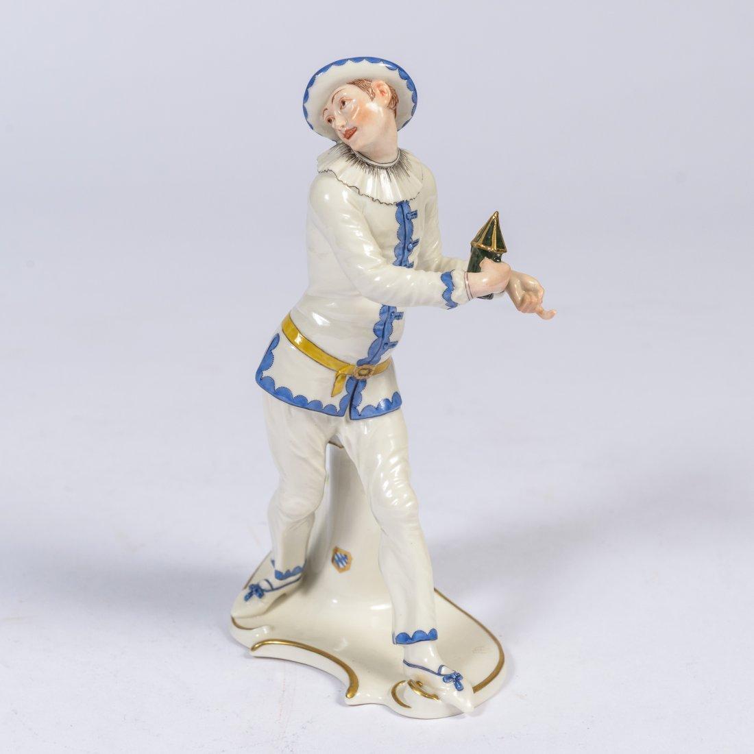 A Nymphenburg Commedia Dell Arte Figure 'Pierrot'
