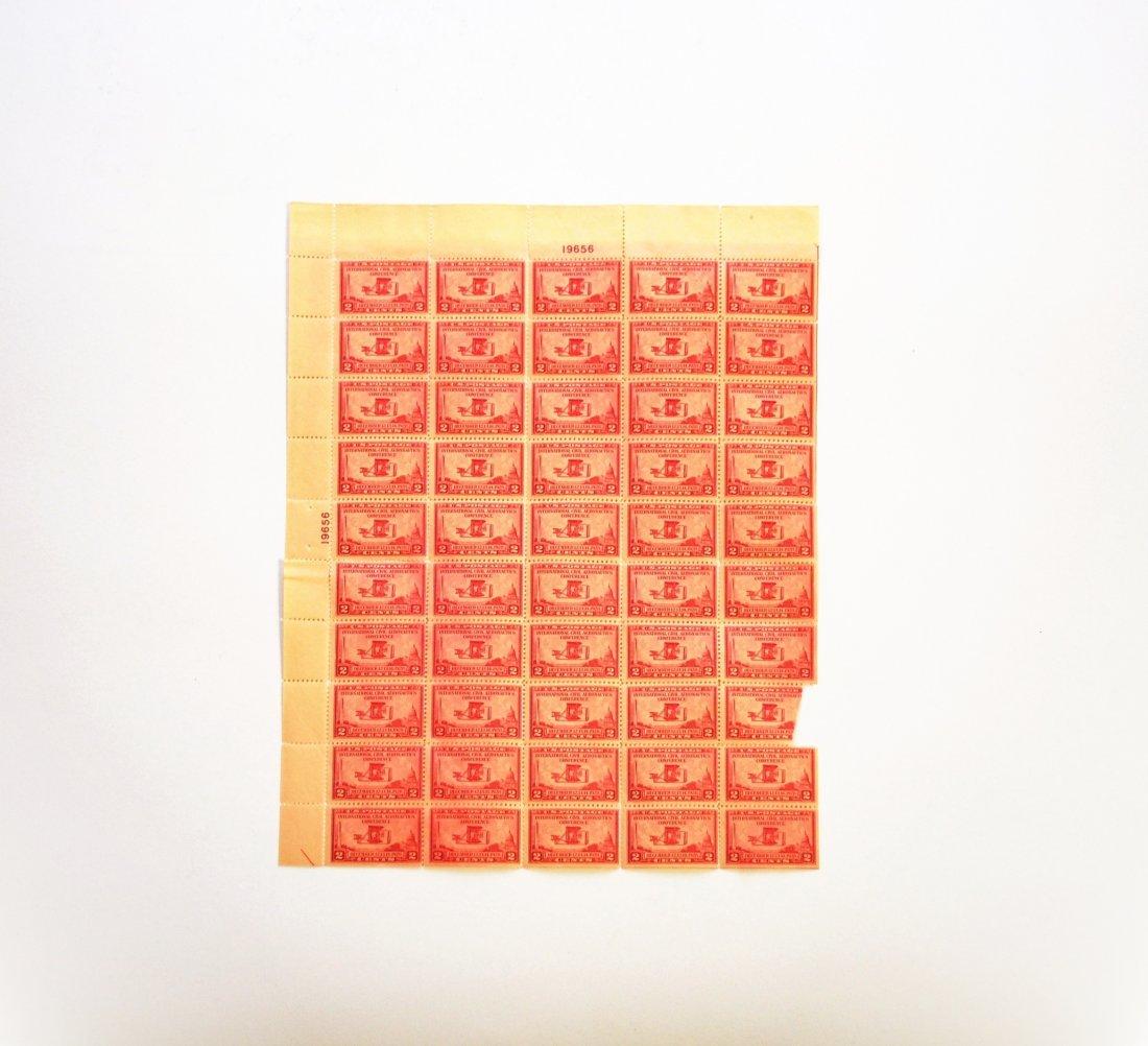 International Civil Aeronautics 2-Cent Stamps