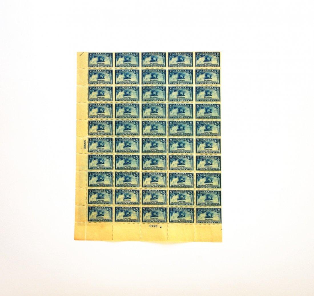 International Civil Aeronautics 5-Cent Stamps