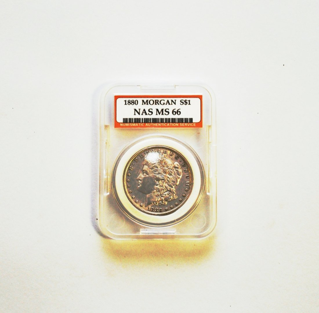 1880 Morgan Silver Dollar MS 66