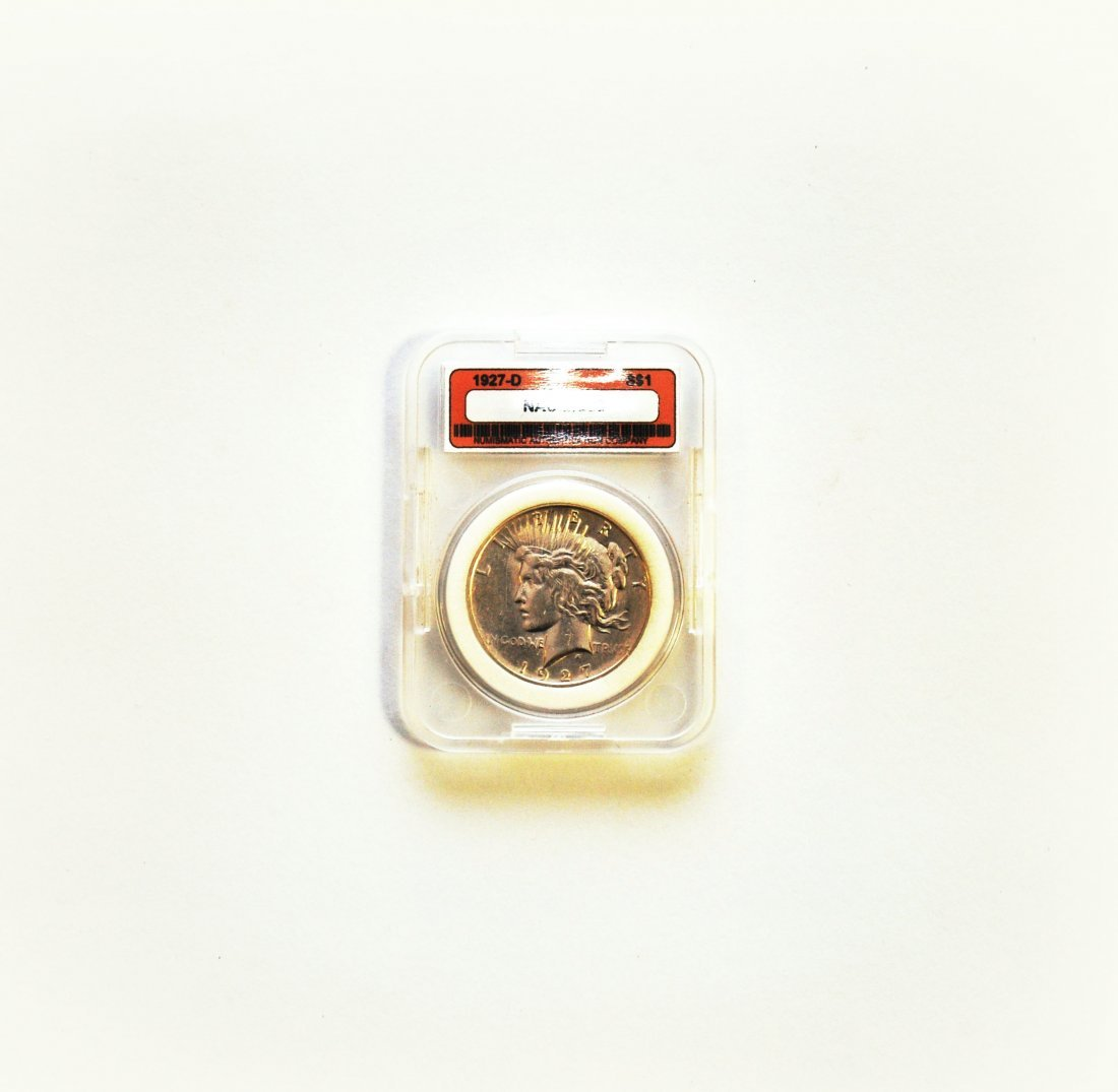 1927-D Peace Dollar MS 66