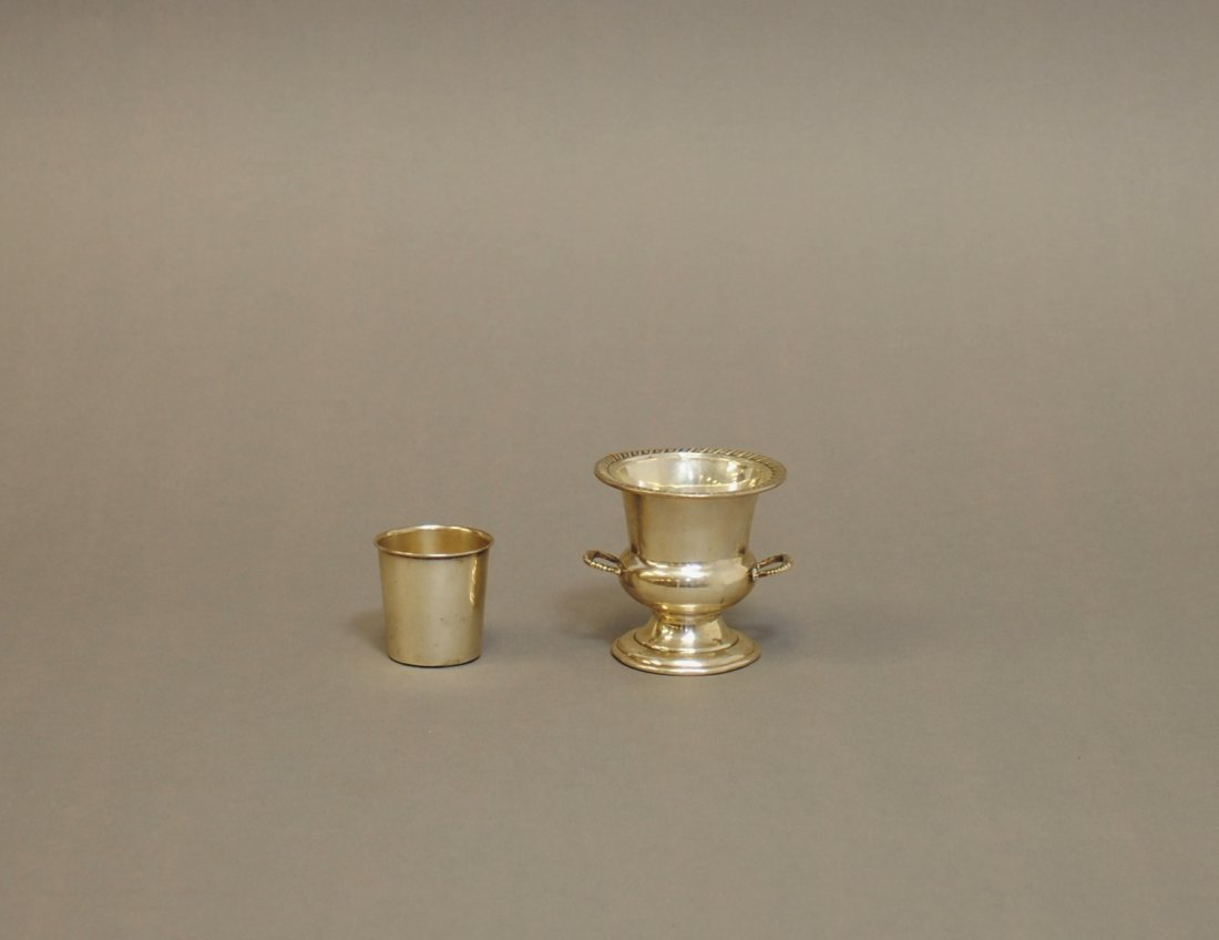 Two(2) Sterling Silver Cups