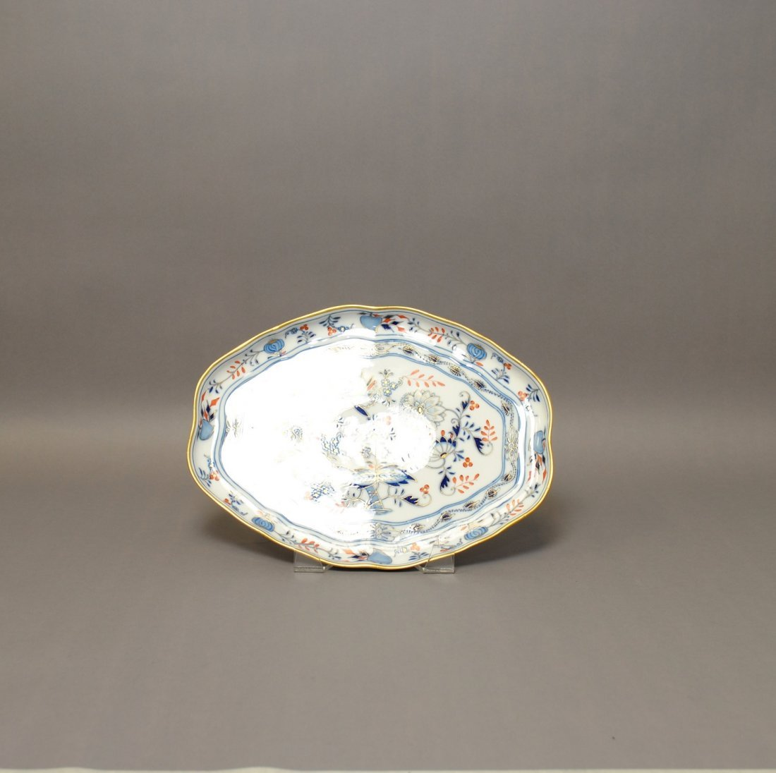 "A 19th C. Meissen ""Blue Onion"" Porcelain Platter,"