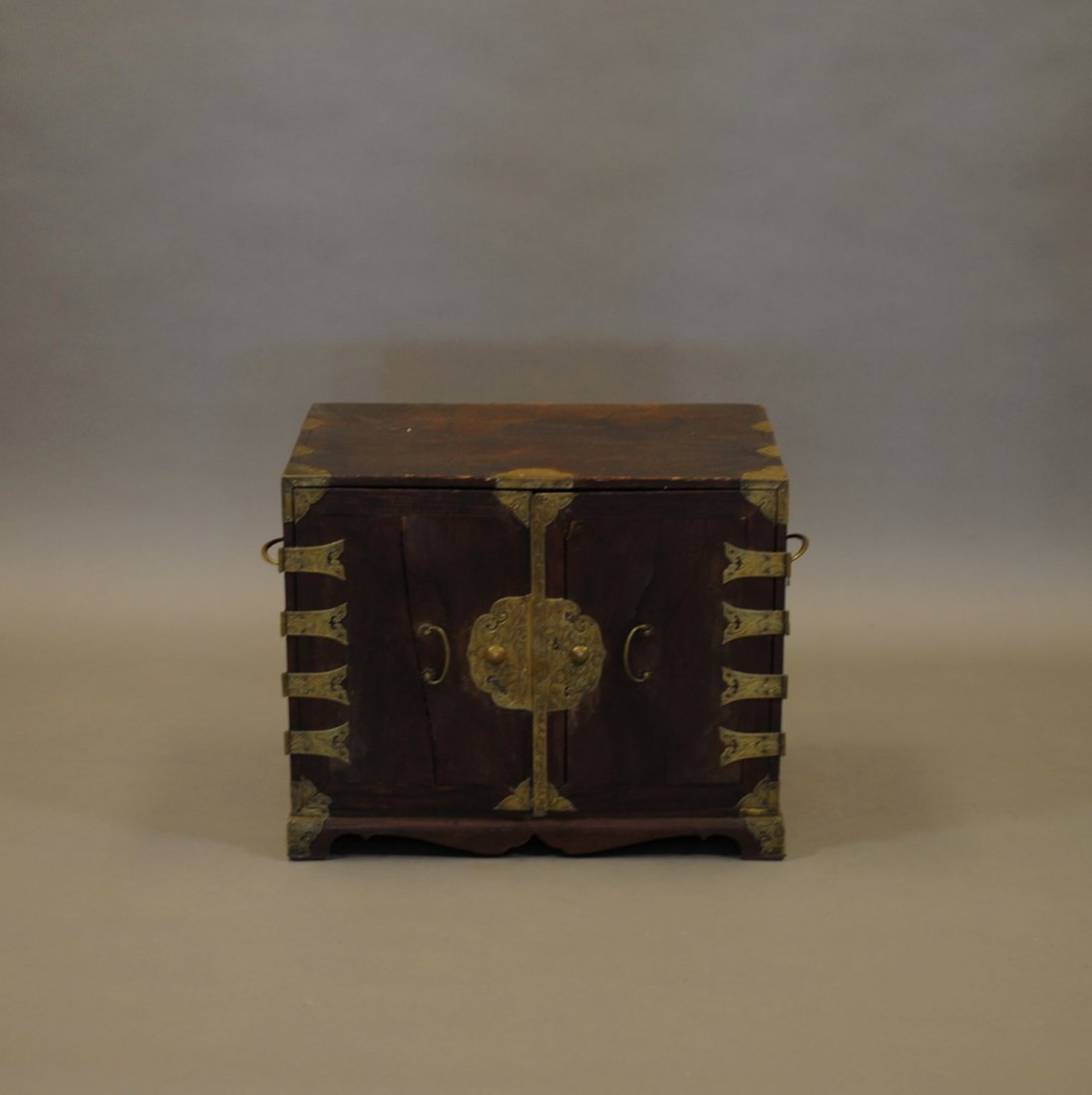 A Small Chinese Apothecary Chest