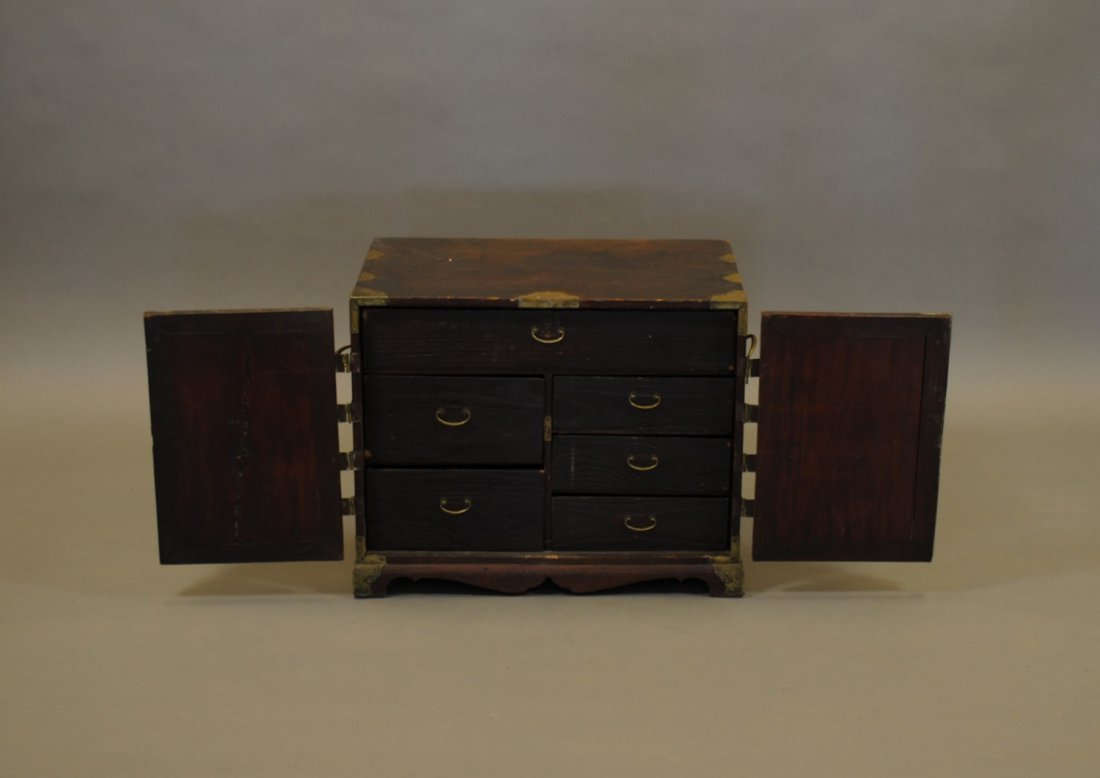 A Small Chinese Apothecary Chest - 2
