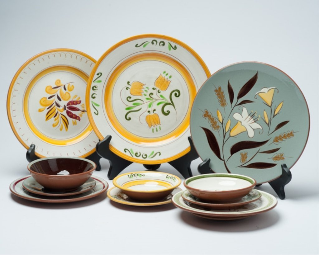 A Collection of Stangl Pottery