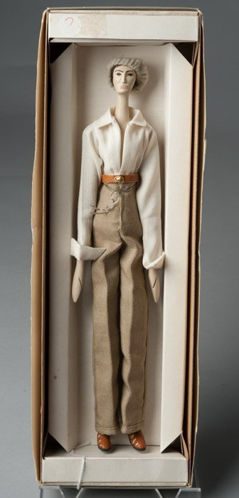 Balos, Chicago Handmade Wood Jointed Doll From the