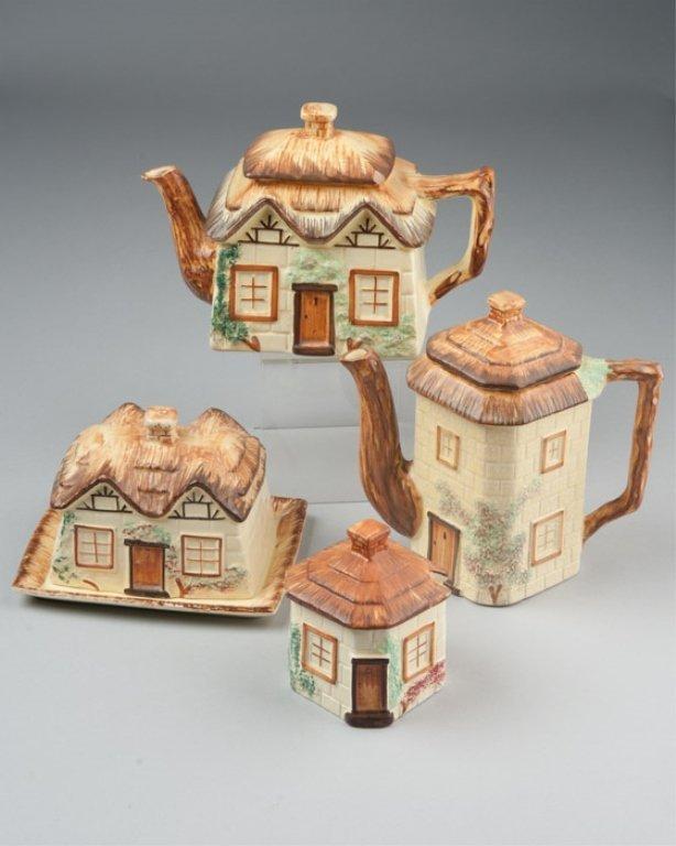 A Four Piece Cottage Ware Pottery Set